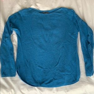 Vince Blue Cashmere Sweater size Small
